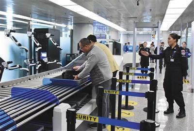 好消息 | 首都机场T2可刷脸过安检 1分钟内可完成安全识别
