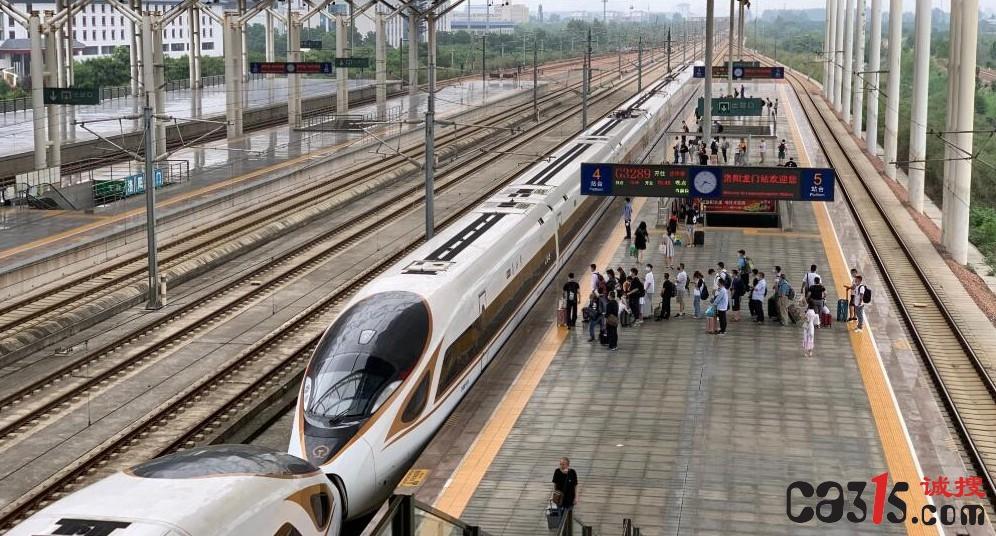 中铁郑州局:旅客列车恢复开行约六成